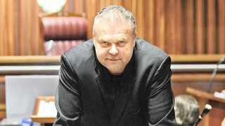 Radovan Krejcir appears at the Palm Ridge magistrate's court during a bail application.