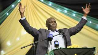 Speaking at the cadres forum held in the ANC's Lower South Coast region at Gamalakhe last night, national executive committee member Bheki Cele delivered a stinging attack on the current party leadership. File picture: Bongani Mbatha/ANA Pictures