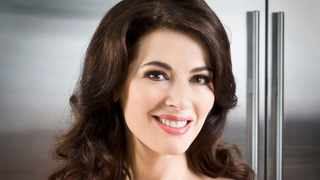 """Nigella Lawson has admitted she uses makeup as her """"armour"""" and told how she admires women who leave the house without it. Picture: Reuters"""