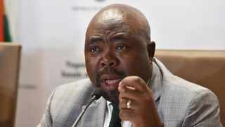 Minister of Sport Thulas Nxesi