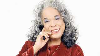 Actress and singer Della Reese, who was best known as her maternal angel character, Tess, in the series Touched by an Angel. Picture: Supplied