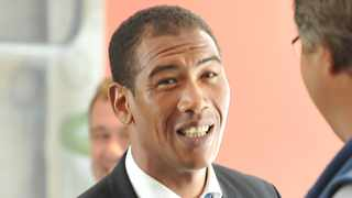 Former Springbok wing Ashwin Willemse appeared to be angered by Nick Mallett and Naas Botha. Photo: Luigi Bennett/BackpagePix