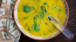 Watercress soup. Pic by Deb Lindsey for The Washington Post