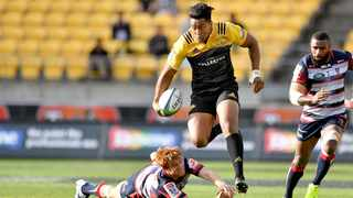 Julian Savea in action for the Hurricanes in 2017. Photo: Marty Melville/www.photosport.nz