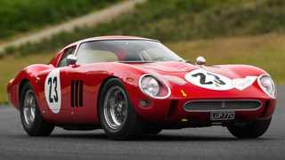 Ferrari 250 GTO is widely considered the most beautiful Ferrari ever. Pictures: Sotheby's