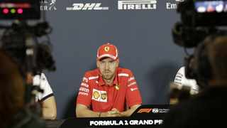 Vettel said the decision had sucked on the day, and it probably would suck for somebody else at some point in the season.  File picture: Claude Paris / AP