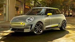 The Mini Electric Concept will spawn a production model in 2019.