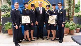 Lufthansa Group airlines honoured with four Skytrax World Airline Awards. Picture: Supplied.
