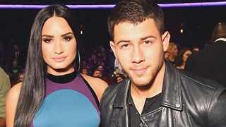 Demi Lovato and Nick Jonas. Picture: Instagram/@DemiLovato