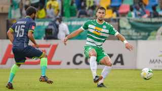 Lorenzo Gordinho (right) in action for Bloemfontein Celtic but his parent club Kaizer Chiefs want him to return from loan. Photo: Frikkie Kapp/BackpagePix