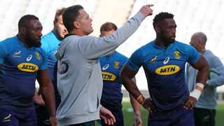 Rassie Erasmus has named a strong squad for Saturday's Rugby Championship match against Argentina. Photo: Chris Ricco/BackpagePix