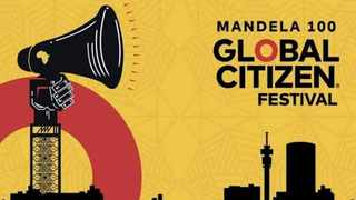 Tickets to the first ever Global Citizen Festival in Africa can be earned by doing actions to make a difference. Picture: Supplied