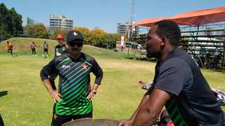 """Zimbabwe have announced a hastily arranged tour by Sri Lanka for two test matches to be played in Harare this month as coach Lalchand Rajput says they are ready for a """"new beginning"""". Photo: Twitter/ZimCricketv"""