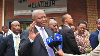 Deputy president David Mabuza in Rustenburg for the Human Resource Development Council (HRDC) meeting. Picture: GCIS.