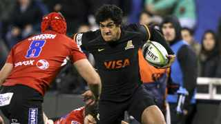 Manuel Montero has been recalled by Argentina two years after his last match for Los Pumas. Photo: EPA/DAVID FERNANDEZ