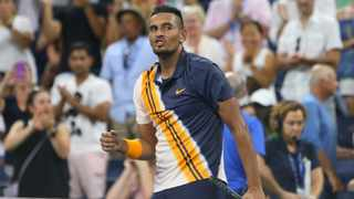 Nick Kyrgios thinks being a tennis umpire is a strange occupation. Photo: Jerry Lai-USA TODAY Sports/Reuters
