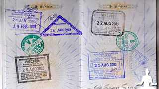 Thailand to crack down on foreigners overstaying visas.