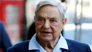 A package containing what appeared to be an explosive device was found in a mail box outside the residence of billionaire financier George Soros, police said. Picture: Reuters/Luke MacGregor/