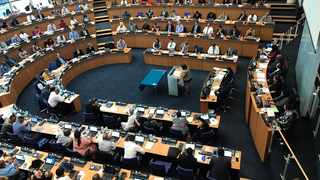 A look at the full sitting of council. Picture: Marvin Charles/Cape Argus