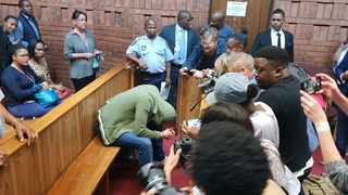 Dros rape accused makes an appearance in the Pretoria Magistrate's Court on Wednesday. File picture: Pretoria News.