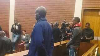 Fifita Khupe, 61, and Ernest Mabaso, 27, are charged with murder, rape and robbery. Picture: Khaya Koko