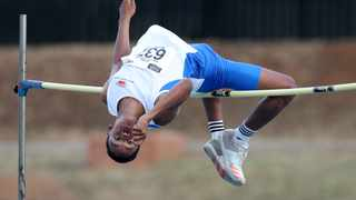 Breyton Poole competes in the High Jump during the 2018 Athletic South Africa Championship at Tuks Stadium in March. Photo: Muzi Ntombela/BackpagePix
