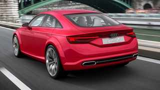 A TT saloon would likely have been inspired by the TT Sportback Concept.