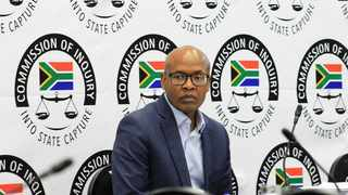 Former Government Communication and Information Systems head Mzwanele Manyi takes the stand at the state capture inquiry. Picture: Dimpho Maja/ African News Agency (ANA)