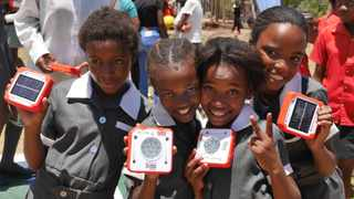 Generously donated by FCTG, the lights were gifted to students across eight schools in Thari Safe Park, Botshabelo, Free State