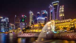 Singapore was one of the most searched destinations this year. Picture: Pexels.