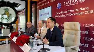 Qatar Airways also operates services to Ho Chi Minh City and Hanoi