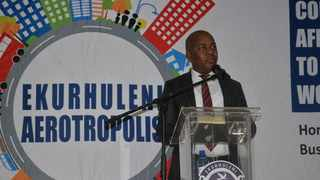 Ekurhuleni mayor Mzwandile Masina. Picture: City of Ekurhuleni /Supplied