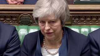 Prime Minister Theresa May will face a confidence vote after MPs overwhelmingly rejected her deal to leave the EU. Picture: Reuters