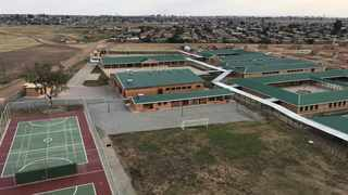 State-of-the-art Menzi Primary School in Tsakane. Picture: @Lesufi/Twitter