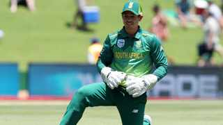 Quinton de Kock produced an exhilarating innings of 83 off just 58 balls, with 11 fours and three sixes, against Pakistan on Wednesday. Photo: Muzi Ntombela/BackpagePix