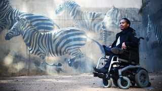 Eddie Ndopu wants to become the first disabled person in space. Pic: Siya Mkhasibe.