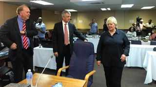 Former State prosecutor Glynnis Breytenbach at the Mokgoro inquiry into the fitness of two top suspended advocates, Nomgcobo Jiba and Lawrence Mrwebi. Picture: Supplied by the inquiry
