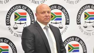 Former chief financial officer of Bosasa Andries Johannes van Tonder testifies at the state capture inquiry. Picture: Itumeleng English/African News Agency(ANA)