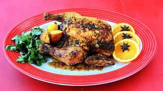 Soy spiced roast chicken. Picture by C.Collingridge