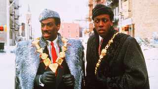"Eddie Murphy and Arsenio Hall in the 1998 film, ""Coming to America"". Picture: YouTube/Screengrab"