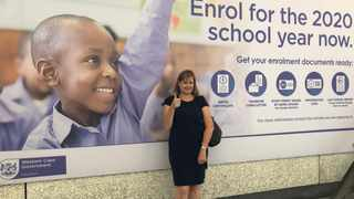 Western Cape Education MEC Debbie Schafer says the the pilot project aims to make the admission process easier and more accessible for parents. Picture: Supplied.