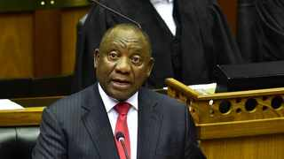 President Cyril Ramaphosa responding to the Debate on the State of the Nation Address at the Joint Sitting of Parliament in the National Assembly. Picture: GCIS