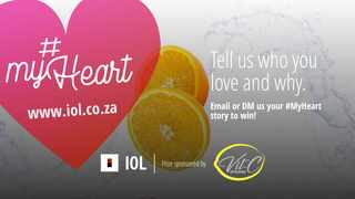 Stand a chance of winning a Vit C shower and bath hamper in IOL's #MyHeart competition.