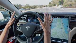 Tesla's Model S, equipped with Autopilot.Photographer: David Paul Morris/Bloomberg