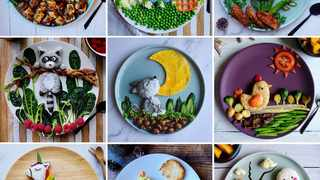 The Vietnam born, France based Que Phuong Tran, has garned a large following because of how she presents her food for her son.  PICTURE: INSTAGRAM