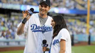 Ashton Kutcher and Mila Kunis are launching their own quarantine wine. Picture: Reuters