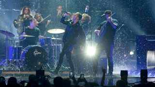 OneRepublic performs on stage at the 2016 MTV Europe Music Awards at the Ahoy Arena in Rotterdam, Netherlands, November 6, 2016. Picture: REUTERS/Yves Herman