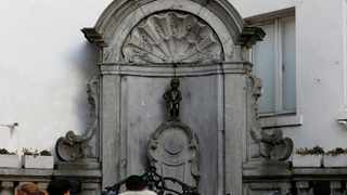 The famous Belgian statue Manneken Pis in central Brussels. Picture: Francois Lenoir/Reuters/African News Agency (ANA)