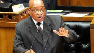 President Jacob Zuma's oral reply to questions at the National Assembly, Parliament, Cape Town. 13/09/2012