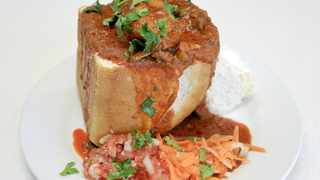 Real Durban bunny chow. Picture: Leon Lestrade